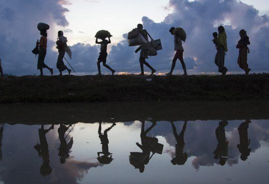 Migrantes climáticos. Fuente: ACNUR