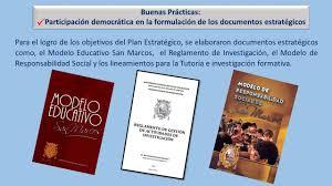 Modelo educativo San Marcos. parte 1