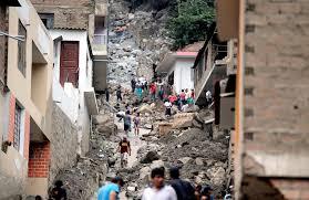 Efectos del cambio climático: huaycos en Perú