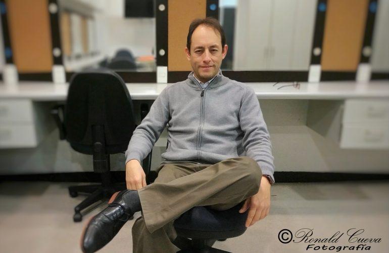 Fernando Valcárcel. Director de la Orquesta Sinfónica Nacional del Perú, compositor y pianista.