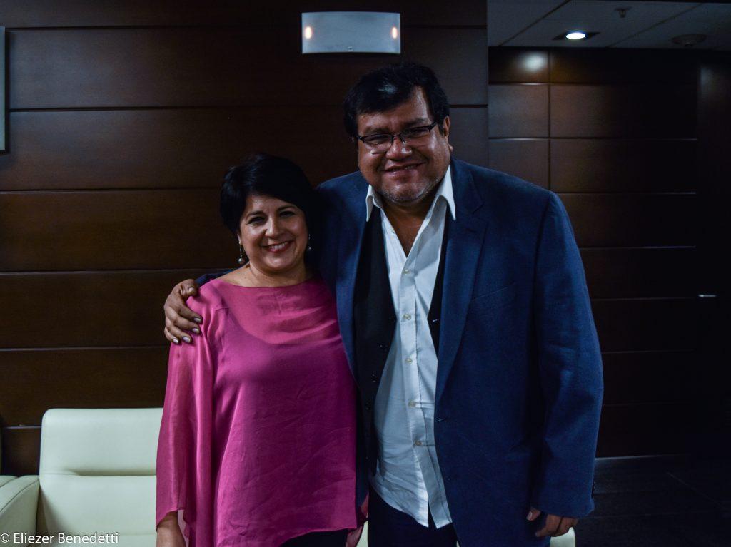 María Elena Pacheco y Ernesto Hermoza, un dúo cien por ciento peruano