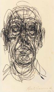 Tête d'homme, Alberto Giacometti