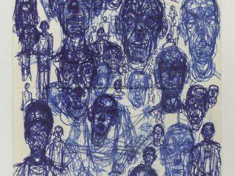 Seis Têtes, Alberto Giacometti